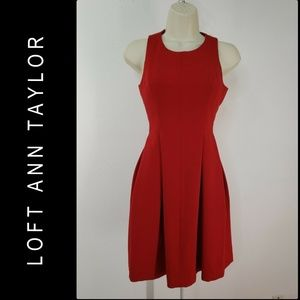 Loft Ann Taylor Woman Sleeveless Fit & Flare Dress